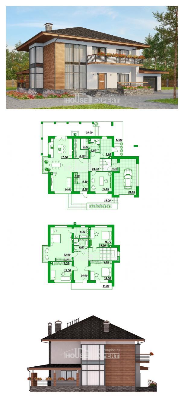Проект дома 305-001-П   House Expert