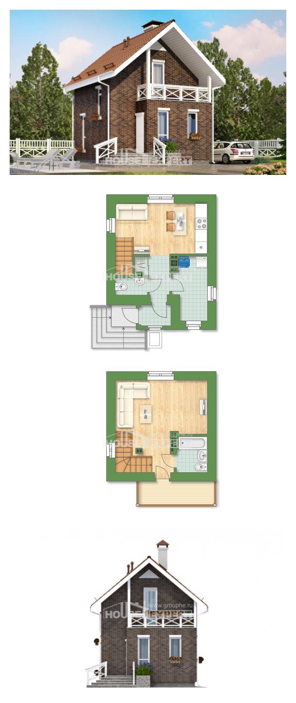 Проект дома 045-001-Л   House Expert