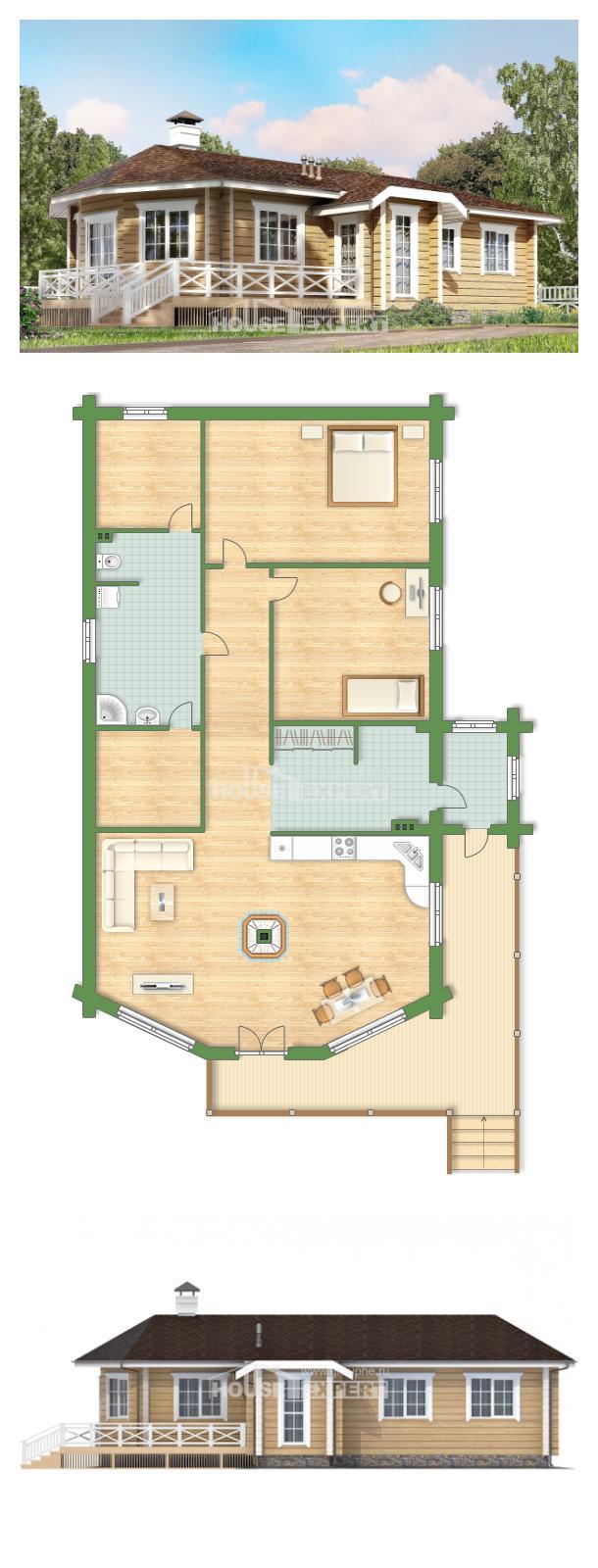 Проект дома 095-001-Л | House Expert
