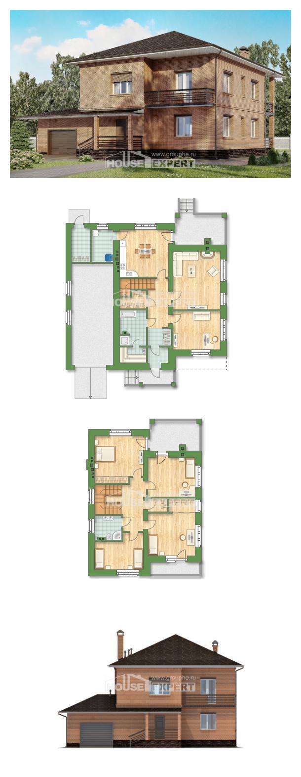 Проект дома 245-003-Л   House Expert