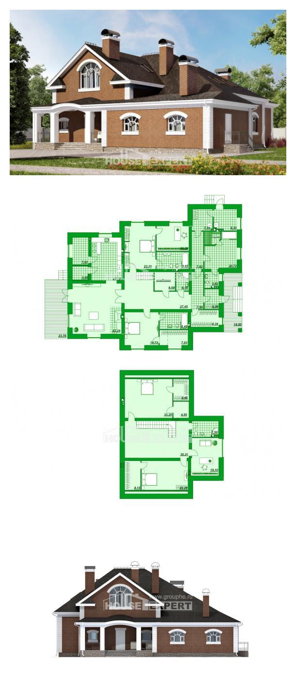 Проект дома 400-003-П   House Expert