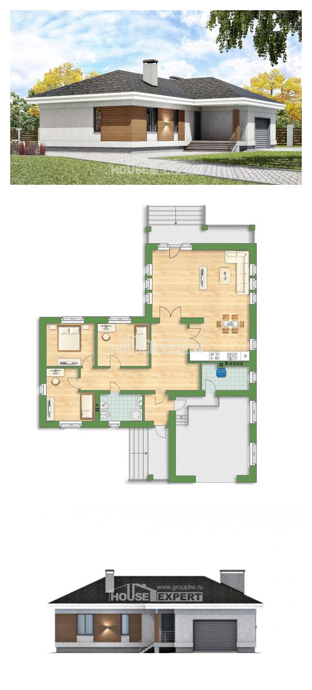 Проект дома 165-001-П   House Expert