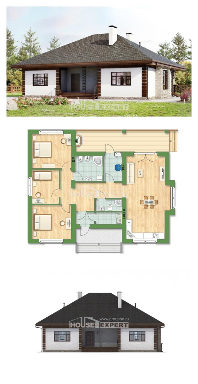 Проект дома 135-003-П   House Expert