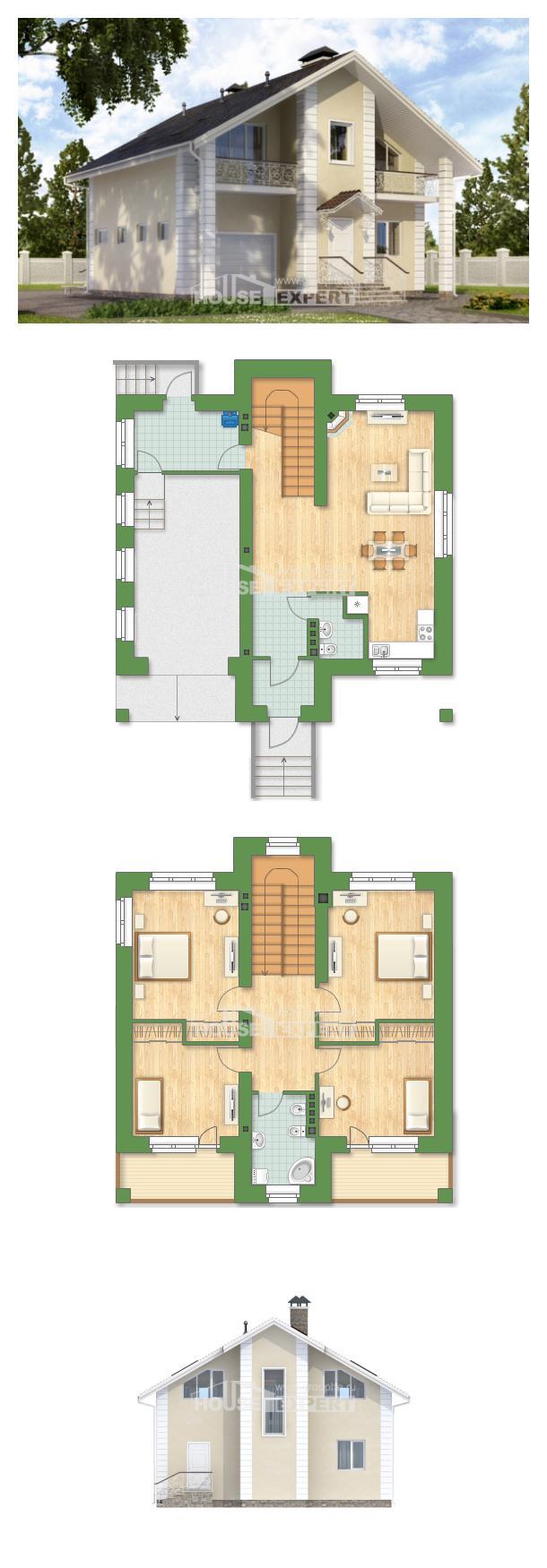 Проект дома 150-002-Л   House Expert