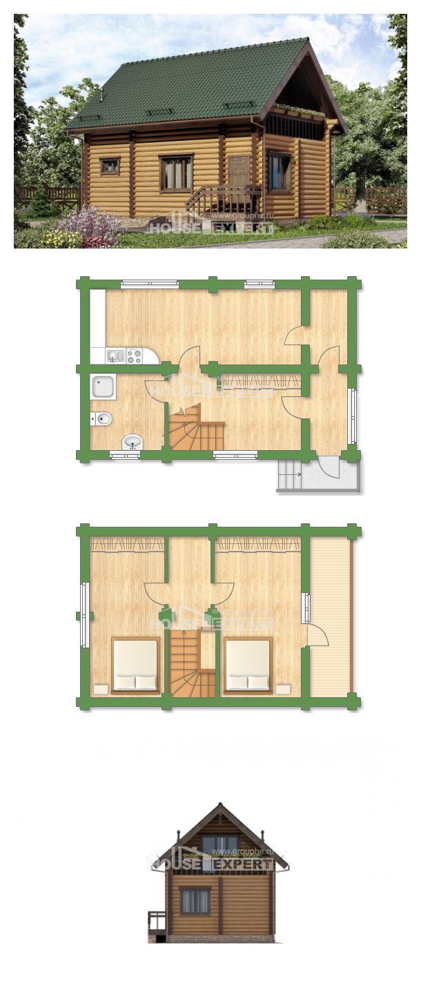 Проект дома 080-003-П | House Expert